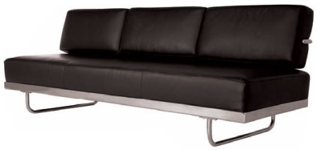 LC5 Le Corbusier Sofa Bed Chaise