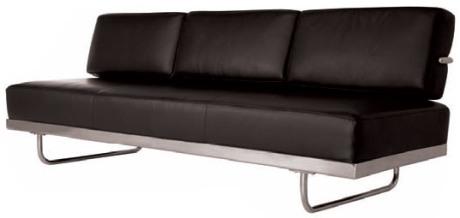 LC5 Le Corbusier Sofa Bed Chaise