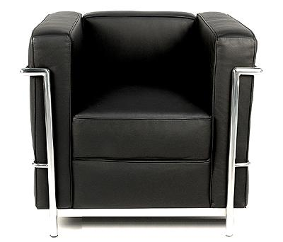 "Le Corbusier Petit Confort 30"" Chair LC2A"
