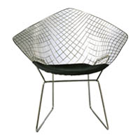 Bertoia Wire Diamond Chair