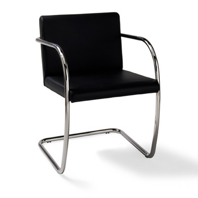 Brno Round Chair by Mies Van Der Rohe