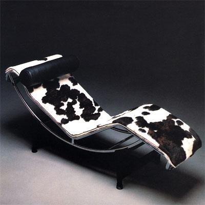 Le Corbusier Chaise Lounge Ponyhide