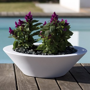 Fang Centro Bowl Pot by Vondom - 24'' Diam.