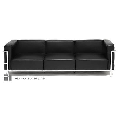 """Le Corbusier Grande Confort 82"""" Sofa LC3B3"""