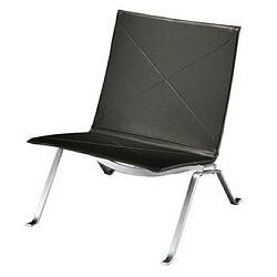 Poul Kjaerholm Easy Chair Black Leather