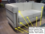 LC2 Sofa -What to watch out for.