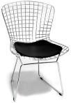 Italian artist and furniture designer, Harry Bertoia, was thirty-seven years old when he designed the patented Diamond chair for Knoll in 1952.