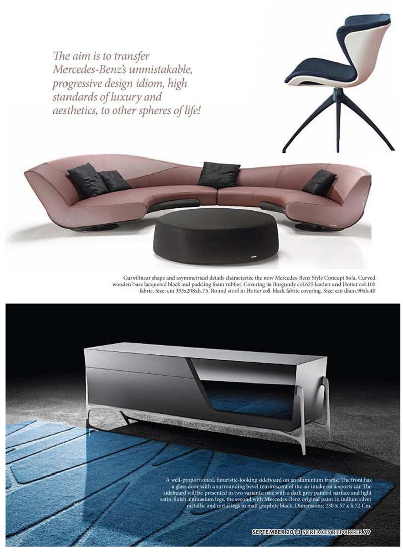Mercedes Benz Gibraltar Furniture Design Notes Modern Furniture